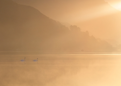4 Llyn Padarn at first light in North Wales