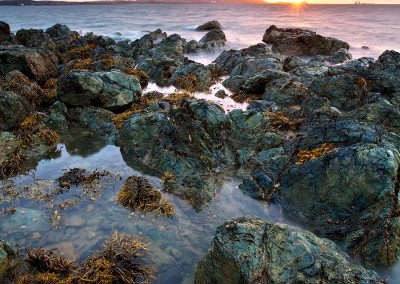 Porth Penrhyn-Mawr At Sunset on the Isle of Anglesey