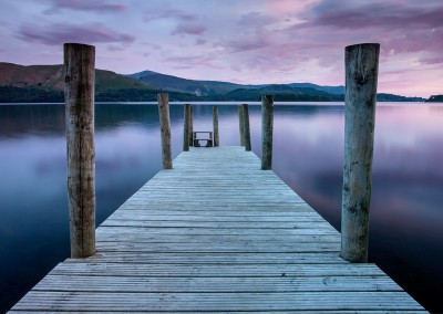 Derwent Jetty at first dawn