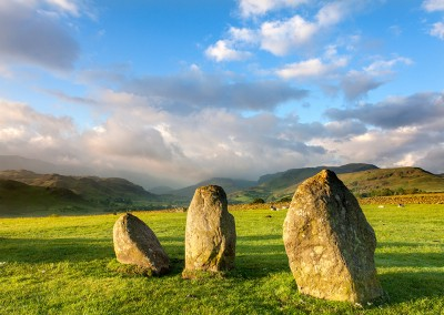 Castlerigg Stone Circle at First light