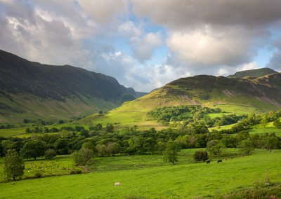Newlands Valley on a summers morning