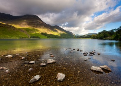 Stormy light over Buttermere
