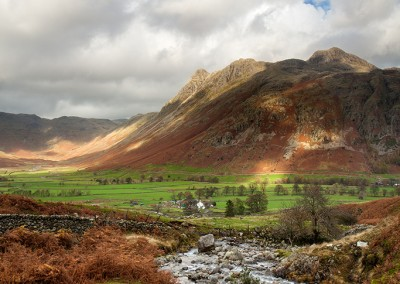 Light on the Landgdale Valley