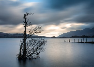 High water levels at Derwent Water