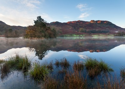 Relections at Rydal Water in the Lake District