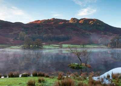 Rydal bathed in Autumnal light