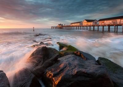 Morning light on Southwold Pier