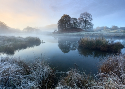 A frosty morning on the River Brathay