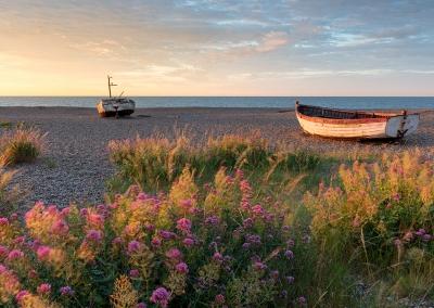 Aldeburgh at dawn on the Suffolk Coast