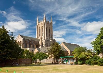 St Edmundsbury Cathedral in Bury St Edmund's