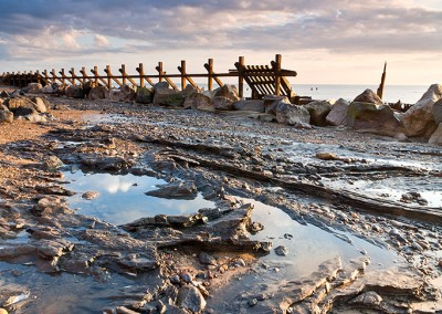 Happisburgh on the Norfolk Coast