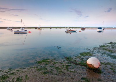 Morston at sunset on the North Norfolk Coast