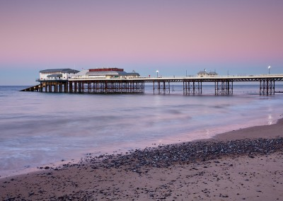 Cromer Pier at dusk on the North Norfolk Coast