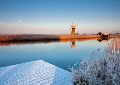 St Benet's Level Drainage Mill onthe River thurne