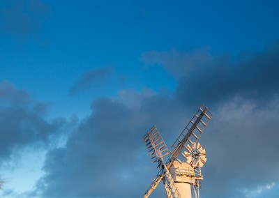 Thurne Drainage Mill at last light
