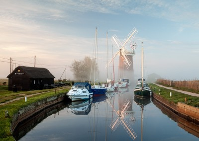 Horsey Windpump on the Norfolk Broads