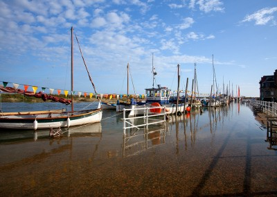 Blakeney at hight tide on the North Norfolk Coast
