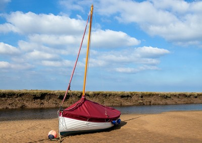 Blakeney on a summers day on the Norfolk Coast