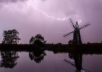 Thunderstorm over the River Ant on the Norfolk Broads