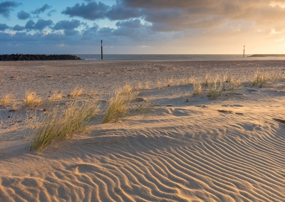 Sea Palling at first light on the Norfolk Coast
