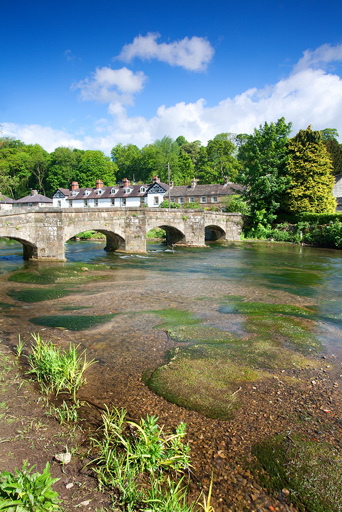 Packhorse Bridge In Bakewell, Derbyshire