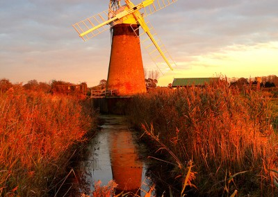 St Benets Windmill On The Norfolk Broads