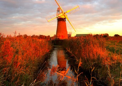 St Benet's Level Windpump On The Norfolk Broads