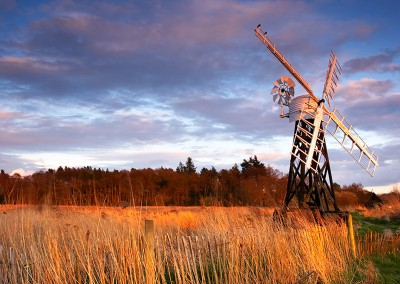 Boardmans Drainage Mill On The Norfolk Broads