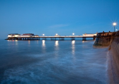 Cromer Pier capture at dusk on the Norfolk Coast