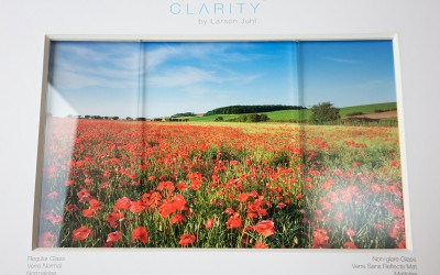 Specialist glazing for framed pictures